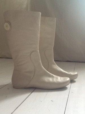 Lacoste Stiefel cremefarben