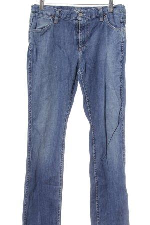 Lacoste Straight-Leg Jeans stahlblau Casual-Look