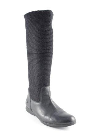 Lacoste Stretch laarzen zwart straat-mode uitstraling