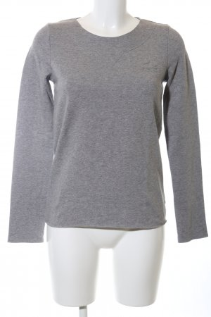 Lacoste Sweatshirt hellgrau meliert Casual-Look