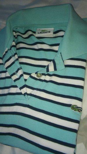 Lacoste T-shirt Blau-Weiß gestreift