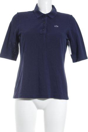 Lacoste T-Shirt dunkelblau klassischer Stil