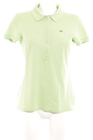 Lacoste T-Shirt grün sportlicher Stil