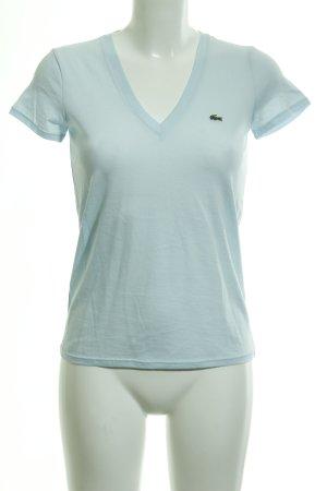 Lacoste T-Shirt hellblau Casual-Look