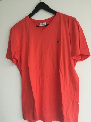 LACOSTE T-Shirt in orange