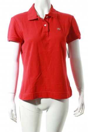 Lacoste T-Shirt rot Casual-Look