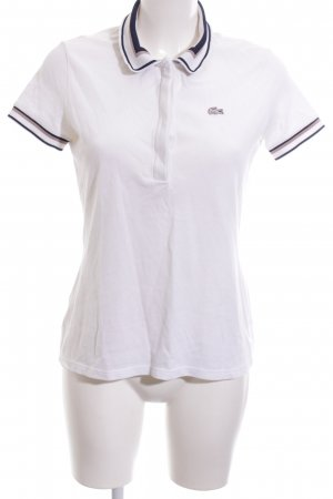 Lacoste T-Shirt weiß Casual-Look
