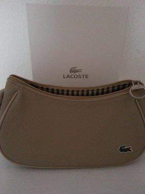 Lacoste Tasche beige Neu! Luxus Ausverkauft