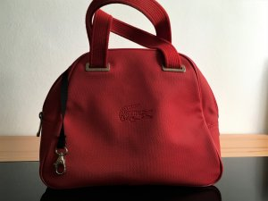 Lacoste Carry Bag red-black synthetic material