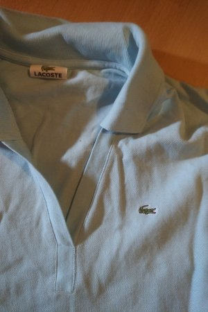 Lacoste Top Polo bleu azur