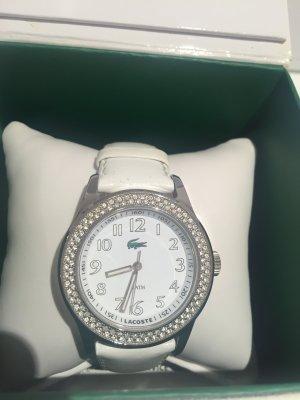 Lacoste Uhr weiß silber