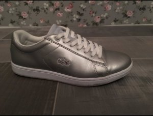 Lacoste Sneakers light grey-silver-colored