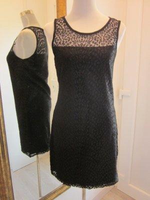 Lacy Dress  Spitzen Kleid  Gr M   Schwarz NEU