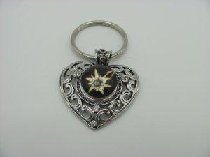 Key Chain silver-colored-black