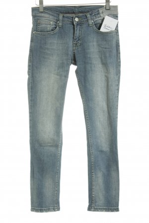 Lady Dark Hoge taille jeans blauw casual uitstraling