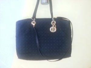 lady dior bag tasche schwarz stoff