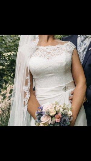 Ladybird Brautkleid Pronovias Hochzeitskleid Wedding Dress ivory 38