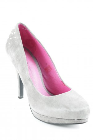 Ladystar by daniela katzenberger High Heels hellgrau Party-Look