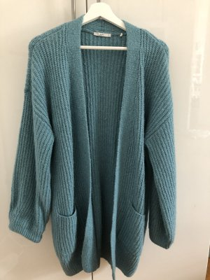 Esprit Long Knitted Vest light blue