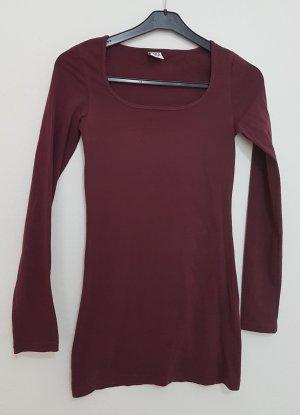 Vero Moda Blusa tipo body carmín-rojo amarronado