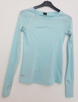 Gina Tricot Sportshirt lichtblauw-babyblauw