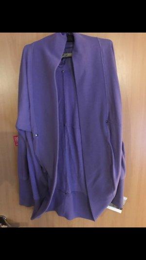 Cardigan violet