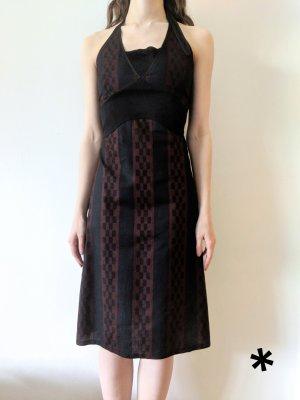 Midi-jurk veelkleurig
