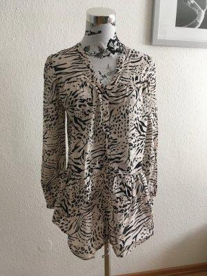 Lässig elegante lange Bluse Kleid
