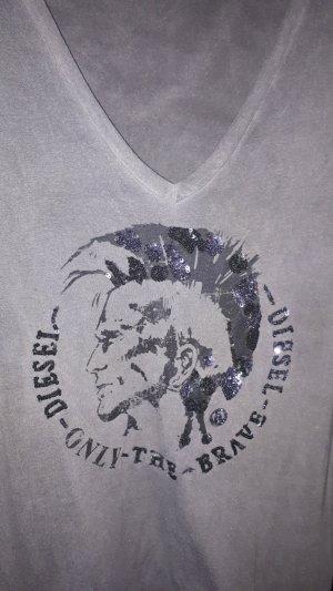 Lässig fallendes DIESEL V-Neck-Shirt