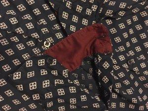 Blue Motion Camicia a maniche lunghe blu scuro-bianco