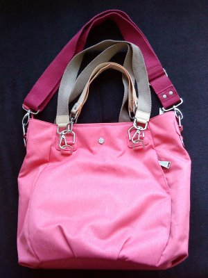 Lässig Wickeltasche * Green Label Mix 'n Match * Strawberry * Pink