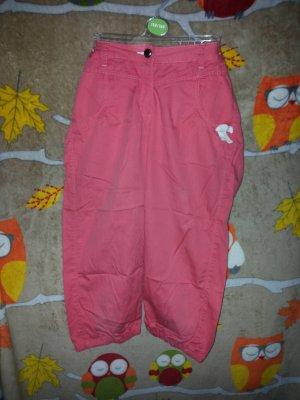 Pantalone a 3/4 albicocca