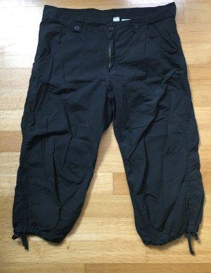 H&M 3/4-broek zwart Katoen