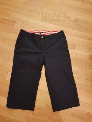 Tommy Hilfiger Pantalon 3/4 bleu foncé coton