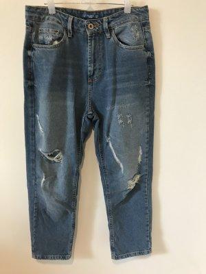 Lässige 7/8 Jeans von Pull & Bear (Mom Jeans)  in Größe 34