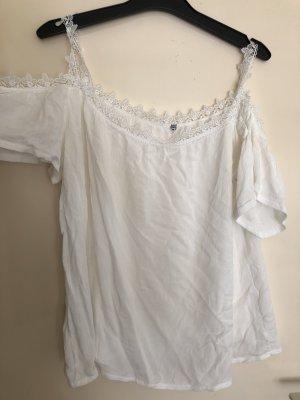 Camisa tipo túnica blanco