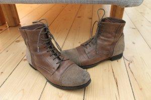 Lässige Boots Lace ups von Vero Cuoio echt Leder Gr. 39