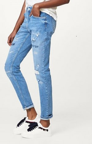 Esprit Boyfriend jeans korenblauw