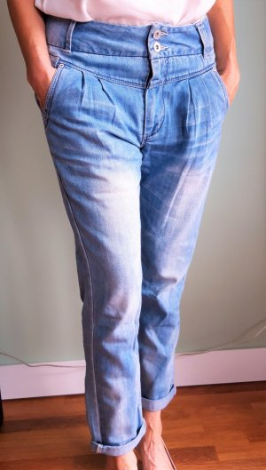 Only Jeans a 7/8 azzurro Cotone