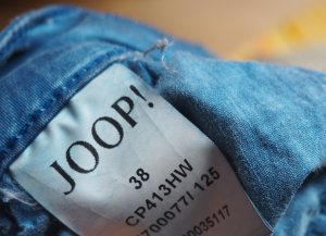 Joop! Chinos blue cotton