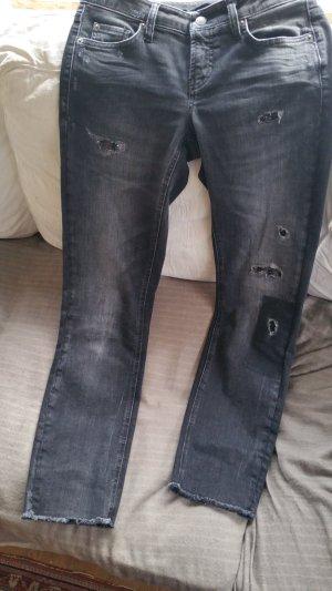 Cambio Jeans 7/8-jeans zwart