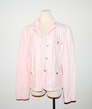 lässige Damen Jeansjacke in rosa von Street One - Gr. 42