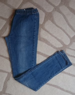 Lässige Denim Jeggins blau