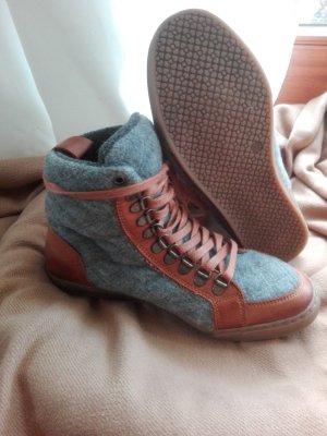 lässige Eddie Bauer Sneaker/Stiefeletten aus Filz & Leder Gr.37