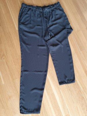 Mango Pantalone cargo bianco-nero