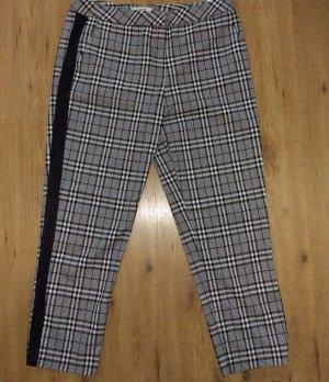 Koton Pantalon fuselé blanc-noir polyester
