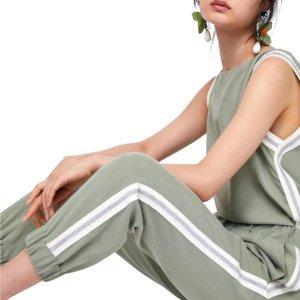 Zara Pantalón de camuflaje multicolor