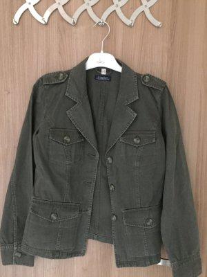 Lässige Jacke von der Marke Elements in der Farbe Khaki, Größe S