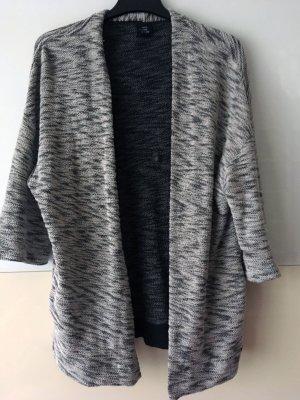 Opus Chaqueta larga negro-blanco Algodón