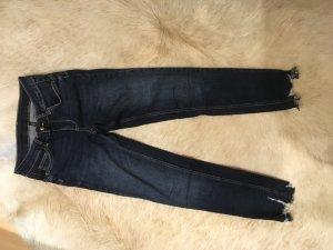 Liu jo 7/8 Length Jeans dark blue cotton